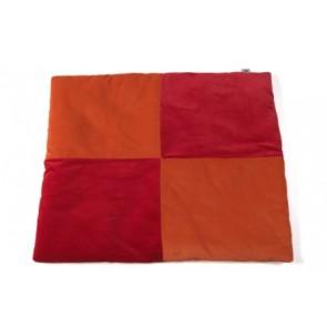Boxkleed Blok oranje/rood 85x105cm - Jollein