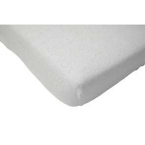 Molton hoeslaken kleuterbed wit 150 x 75 cm - Jollein