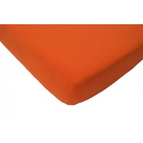 Hoeslaken junior katoen oranje - Jollein