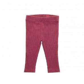 Legging Rib Maroon Red - Jollein