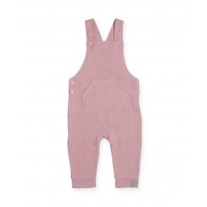 Salopette Cotton Wrinkled Pink - Jollein