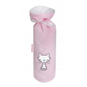 Kruikenzak Buurpoes roze - Cottonbaby