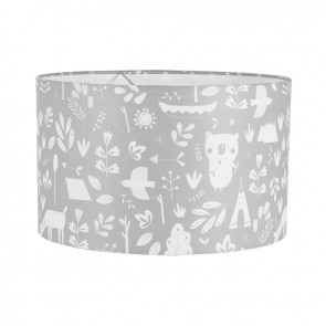 Hanglamp Rond Adventure Grey - Little Dutch