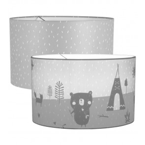 Hanglamp Silhouette Grey Sprinkles – Little Dutch