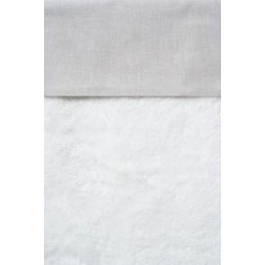Wieglaken Chambray Grijs - Cottonbaby