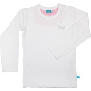 T-shirt lange mouw lief! Wit maat 86 - lief!