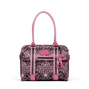 Schoudertas voor onderweg roze - Little Company