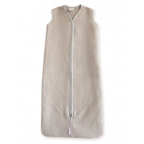 Slaapzak Wafel Zand 110 cm - Cottonbaby