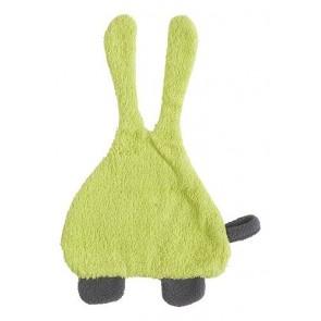 Speendoekje badstof Bunny lime - Jollein